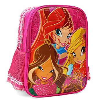 Target Winx Club Fairy Stella Backpack Mochila Escolar, 41 cm, Rojo (Red): Amazon.es: Equipaje