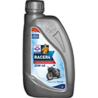 HP Lubricants Racer4 20W-40 API SL Motorcycle Engine Oil (1 L)