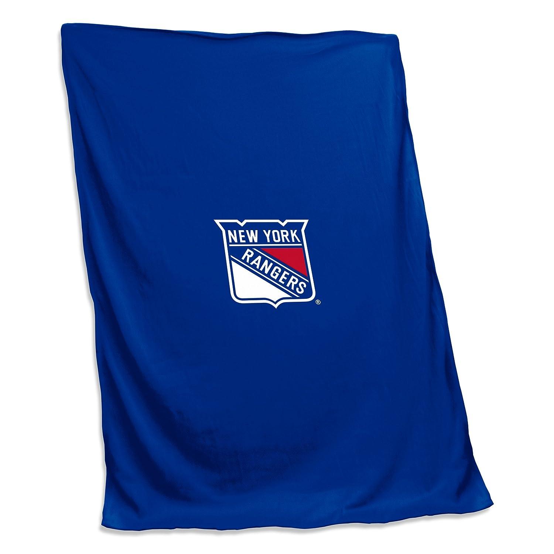 Tackle NHL x 54 Unisex 84スウェットシャツ毛布with Rangersスウェットシャツ毛布、ロイヤル、1サイズ B074XQTYGQ NHL Twillパッチlogony Rangers York New