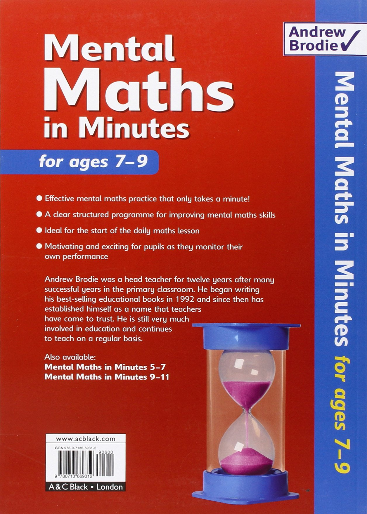 Mental Maths in Minutes for Ages 7-9: Photocopiable Resources Book for  Mental Maths Practice