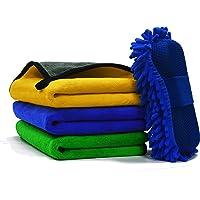 SWIPPLY غسيل السيارات منشفة كبيرة التفاصيل رغوة غسيل السيارة، (3+1) مجموعة مجموعة غسيل السيارات، ملحقات تنظيف السيارات…