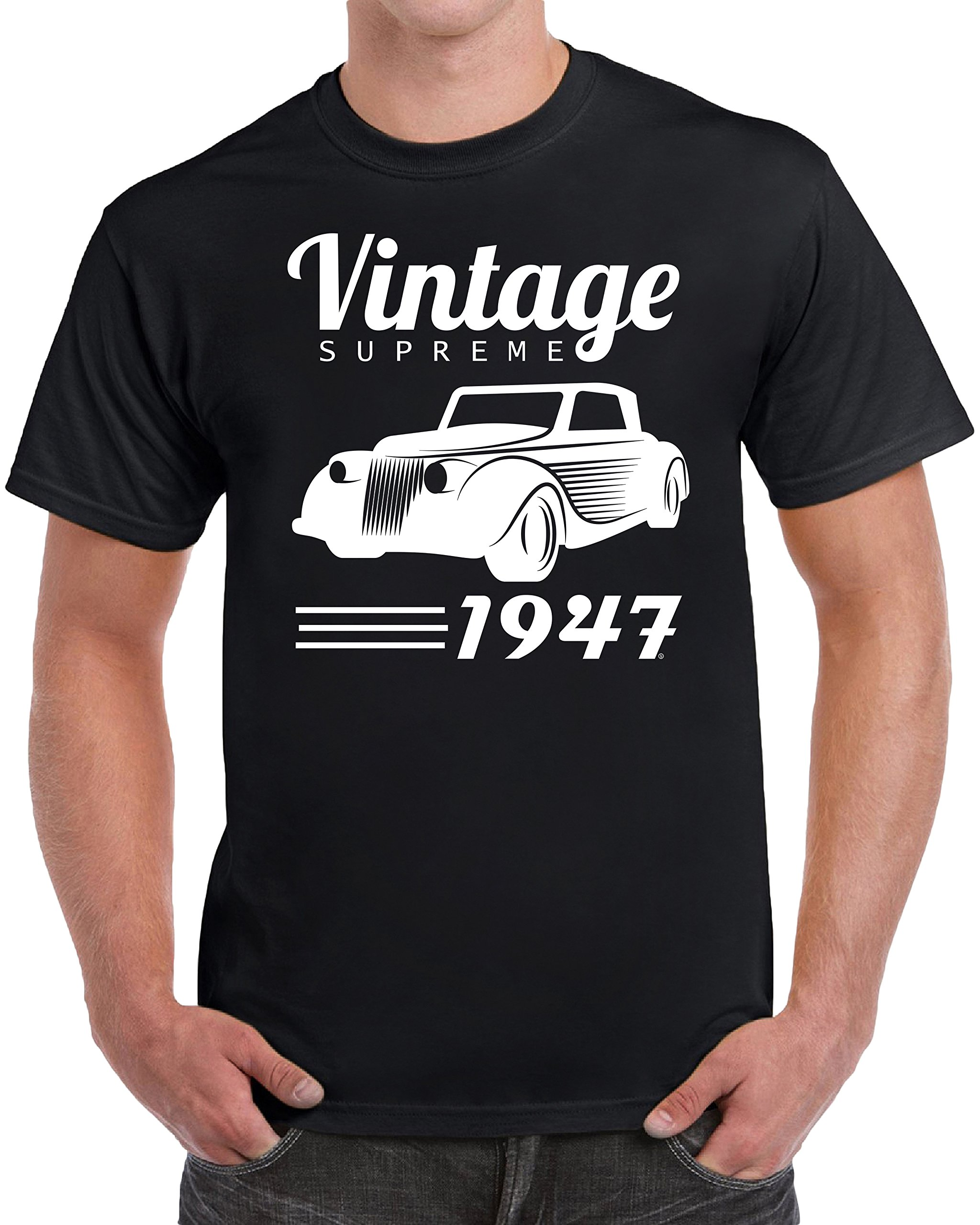 Vintage 1947 Birthday Gifts For Novelty Shirts