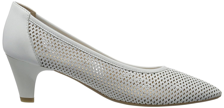 Caprice 22500, Scarpe con Tacco Donna, Bianco (White Nappa), 36 EU:  Amazon.it: Scarpe e borse