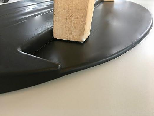 S/écurit/é sur toutes les surfaces et protection contre les dommages sur bois sol /échelle t/élescopique Stopper Tapis pour tabouret de /échelle double carrelage et sols. ect bois /échelle /échelle