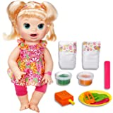 baby aLive Dolls- Snackin' Sara Super Snacks - Blonde Girl - Kids Toys Ages 3+
