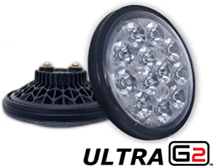 LED Landing Light for Aircraft | 3,200LM | PAR36 Size | Ultra GEN2 Series | 9-32VDC