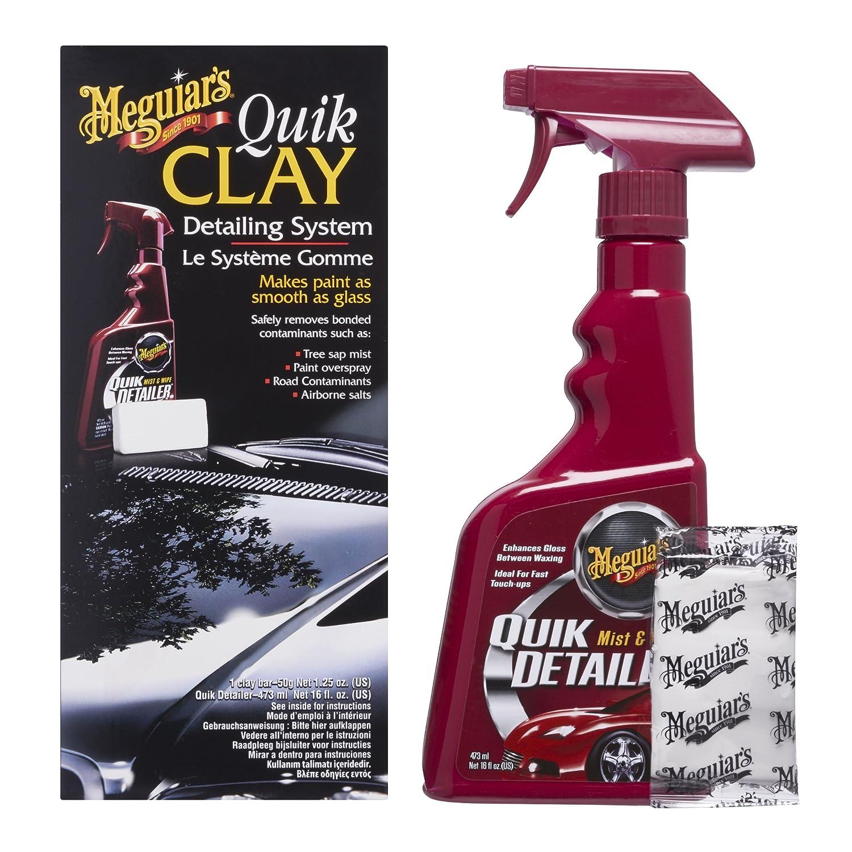 Meguiar's 73435 Kit Quik Clay con Pulitore, Set di 1, Piccolo 3M ME G1116 B001MPSTK0