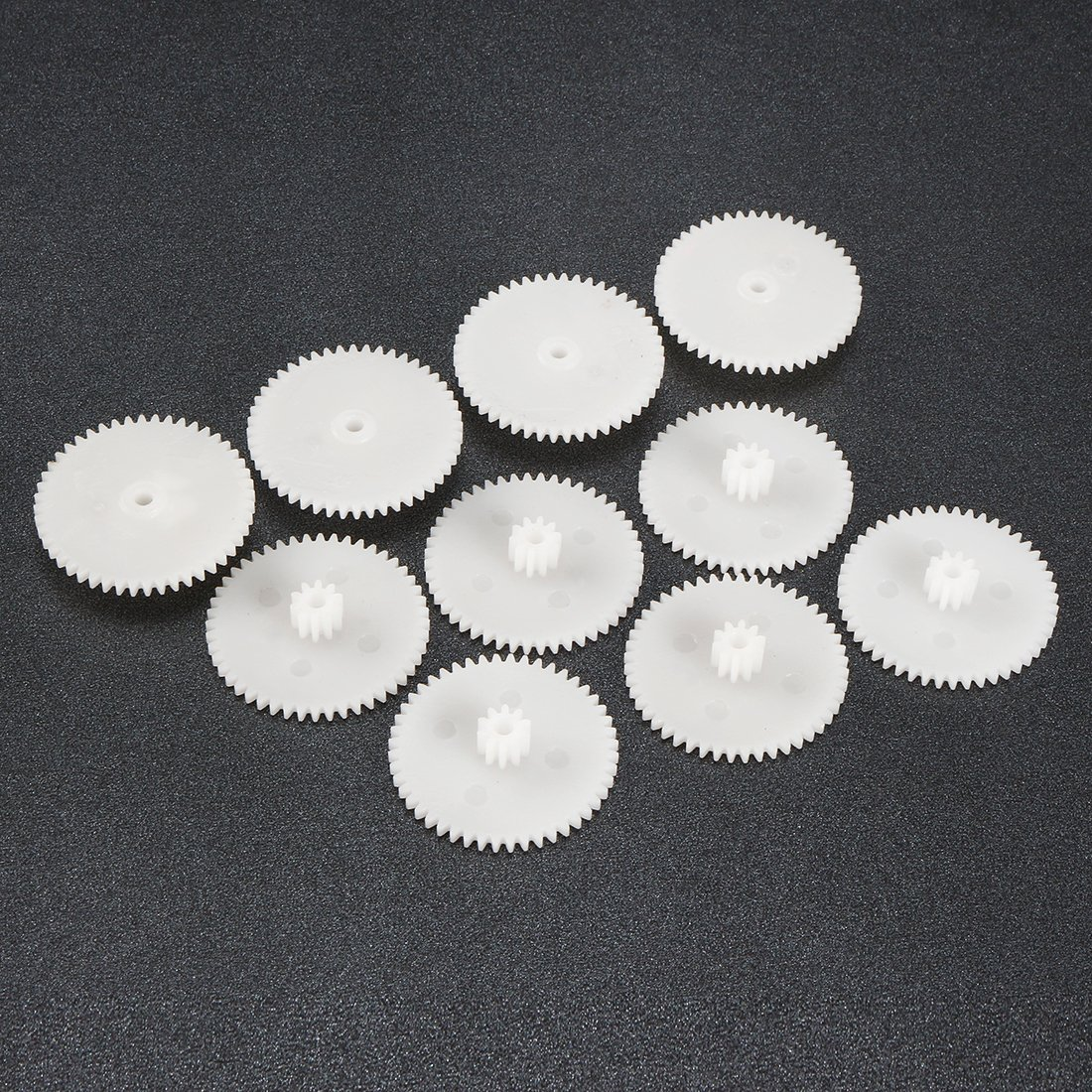 uxcell Plastic Gear DIY Reduction Worm Gears Model 48102B for RC Car Robot Motor 10pcs