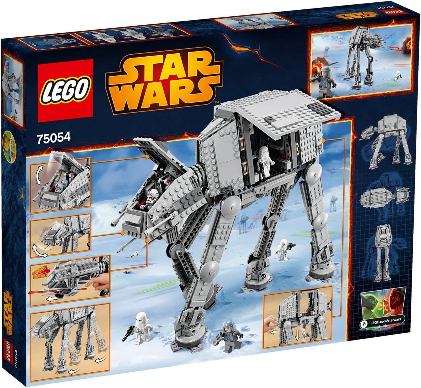 Amazon Com Lego Star Wars At At 75054 Toys Games