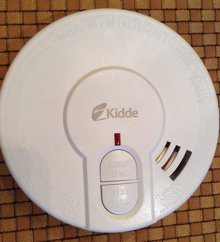 Kidde 0946 Compact Smoke Alarm with Built in Hush Button