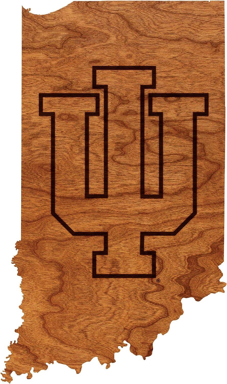 LazerEdge NCAA Wooden Wall Hanging