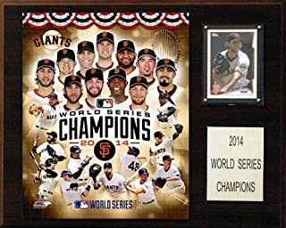 product image for MLB San Francisco Giants 2014 World Series Champions Plaque, 12 x 15-Inch