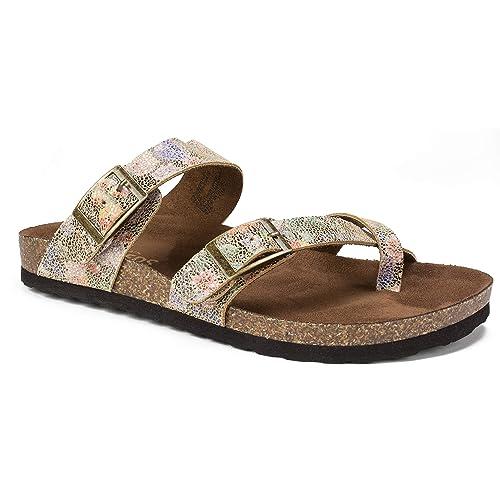 c5ab33c4c5b WHITE MOUNTAIN Women's Gracie Flat Sandal