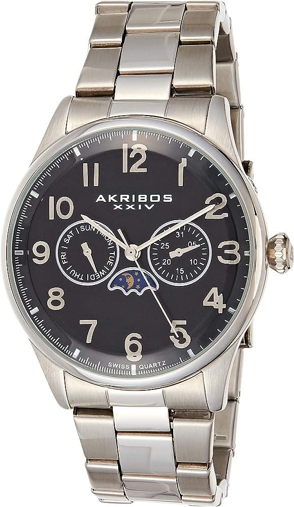 Akribos XXIV Reloj suizo cronógrafo para hombre – 3