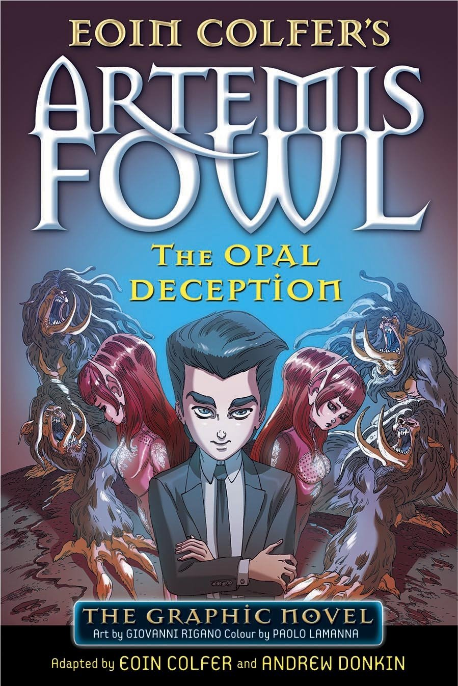 artemis fowl books in order