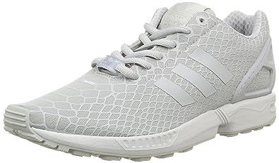 pretty nice 5921c 7d2b0 adidas Herren Zx Flux Techfit Sneaker grau weiß 40 EU