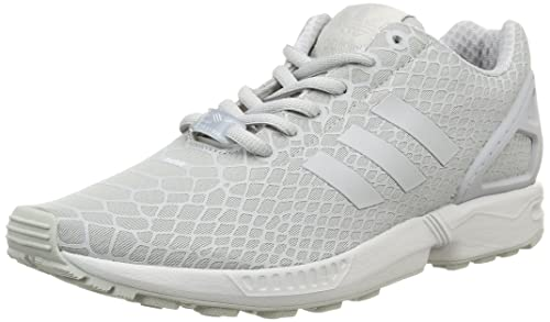 ccc0c15a4 adidas Men s s Zx Flux Techfit Trainers Grey White ...