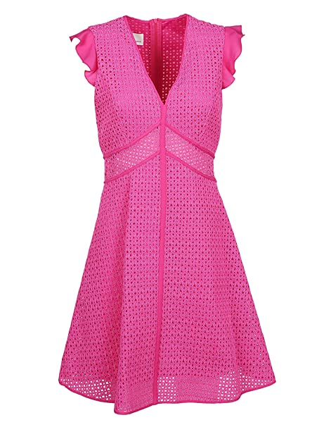 Pinko Vestito Donna 1G13UU7321N17 Poliammide Fucsia  Amazon.it ... ec76064c2a2