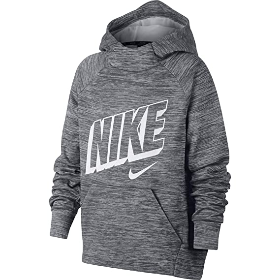 78c76ed738bc Amazon.com  Nike Boy s Therma Graphic Training Pullover Hoodie  Clothing