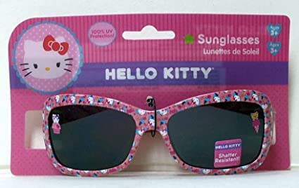 Amazon.com  Hello Kitty Girls Sunglasses 100% UV Protection  Toys ... af3918fd8f33