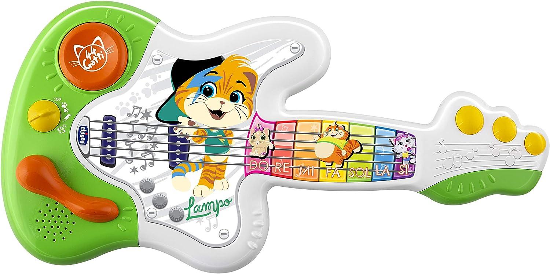 Chicco - Guitarra de 44 Gatos, Instrumento Musical, 1 4 años ...
