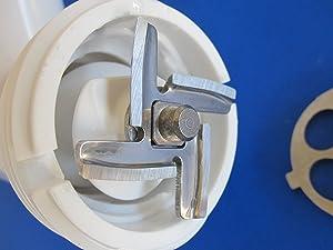 NEW cutting blade knife for Kitchenaid Mixer meat grinder & FGA Food chopper