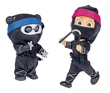 Amazon.es: Simba 109301050 Oso mascha muñeca como Ninja ...