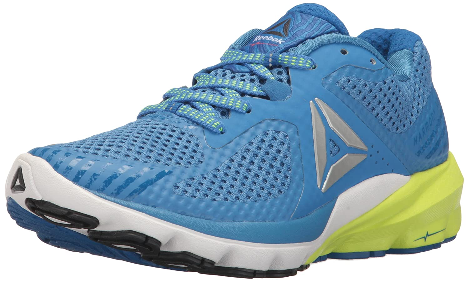 Reebok Women's OSR Harmony Road Running Shoe B06XWYM1WK Blue/Fire 11 B(M) US|Echo Blue/Awesome Blue/Fire B06XWYM1WK Coral/White/Lead/Yellow dd8773