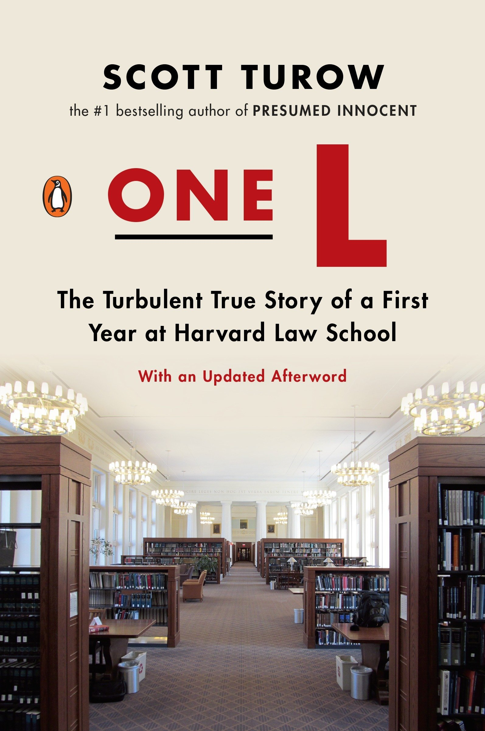 One L: The Turbulent True Story of a First Year at Harvard Law- top 10 books every law student must read
