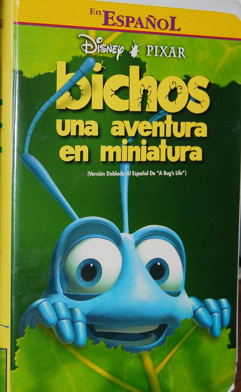 Amazon Com Bichos A Bug S Life Spanish Version Vhs Movies Tv