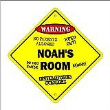 NOAH Street Sign Childrens Name Room Decal Indoor//Outdoor