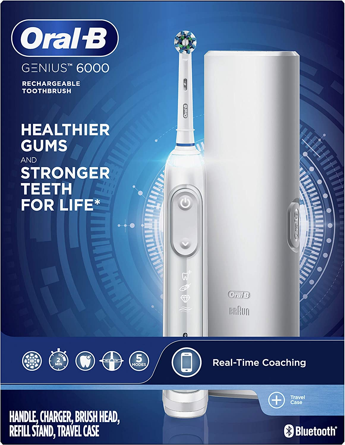 Braun finished goods Pro600 Cross Action Rechargeable Toothbrush  PC600