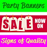 Sale Now On V2 PVC Banner With Eyelets Available in 3 Sizes (this size is 4FT x 1.5FT)