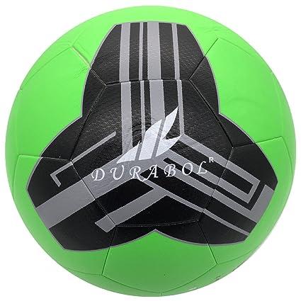 Durabol Balón de Fútbol Entrenamiento Talla 5 (VERDE): Amazon.es ...