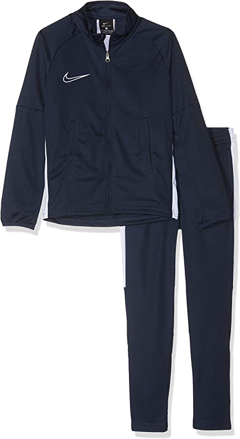 Humorístico Cuña Vista  Amazon.com: Nike Academy Dry-Fit Boys' Training Tracksuit (Obsidian, S):  Clothing