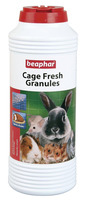 Beaphar Cage pour petit animal Fresh Granules Clapier Granules Convient pour hamster, souris, rats, furets, lapins, cobayes, 600g B00T04KRVY