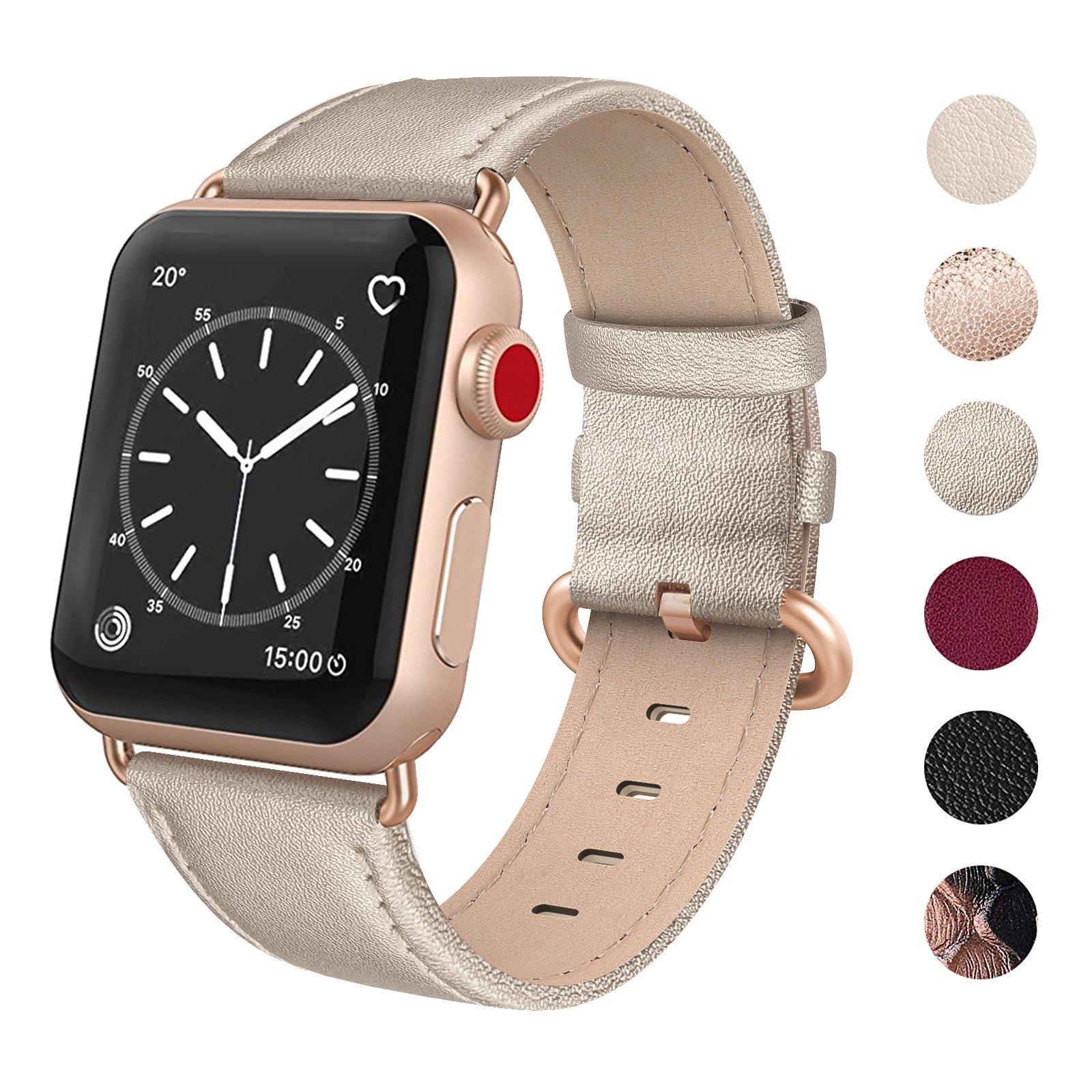 Malla Cuero para Apple Watch (38/40mm) SWEES [7FKCGQB5]