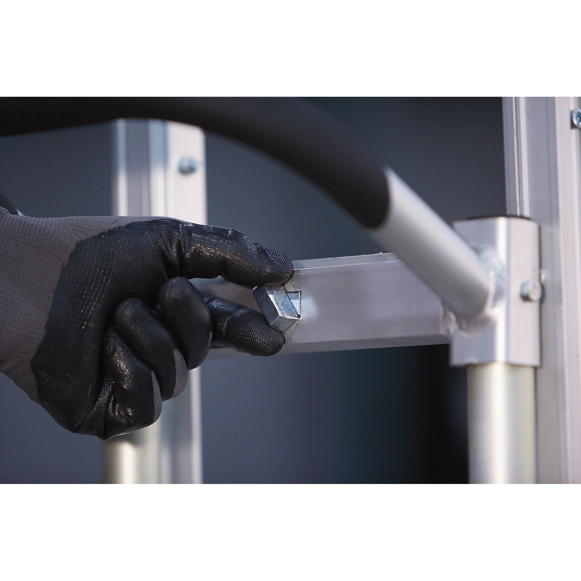 Roughneck Convertible 3-Position Hand/Platform Truck - Aluminum, 550-lb./770-Lb. Capacity