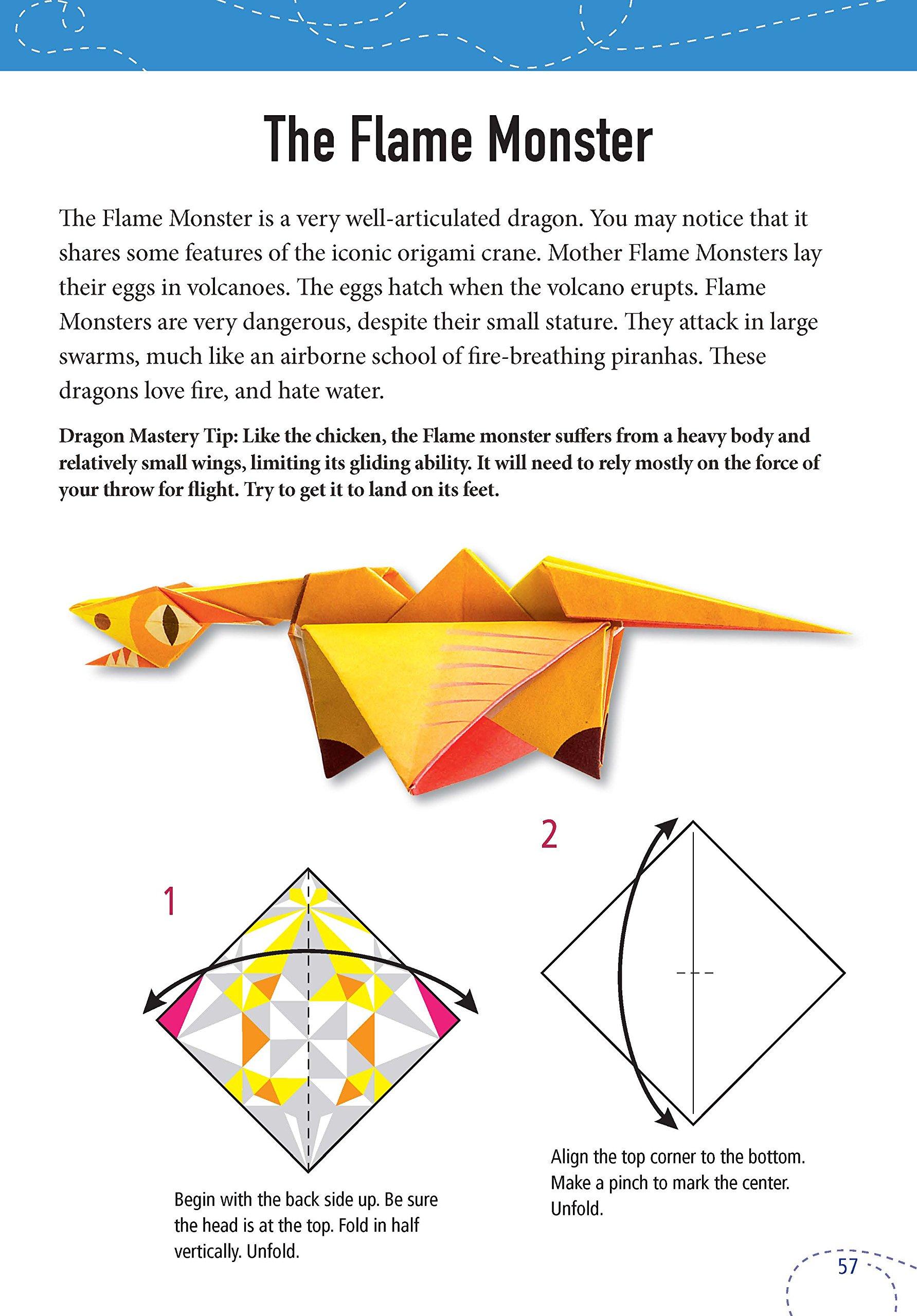 Fun Dragon Corner Bookmark Design - Red Ted Art - Make crafting ... | 2560x1783