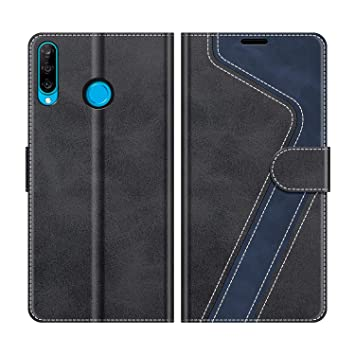 MOBESV Funda para Huawei P30 Lite, Funda Libro Huawei P30 Lite, Funda Móvil Huawei P30 Lite Magnético Carcasa para Huawei P30 Lite Funda con Tapa, ...