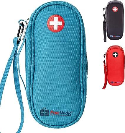 Colorful Insulin Pen Case Diabetes Supply Bag First Aid Pouch 8 x 4.5 Double EpiPen Case Travel Medical Bag Auvi-Q Pouch