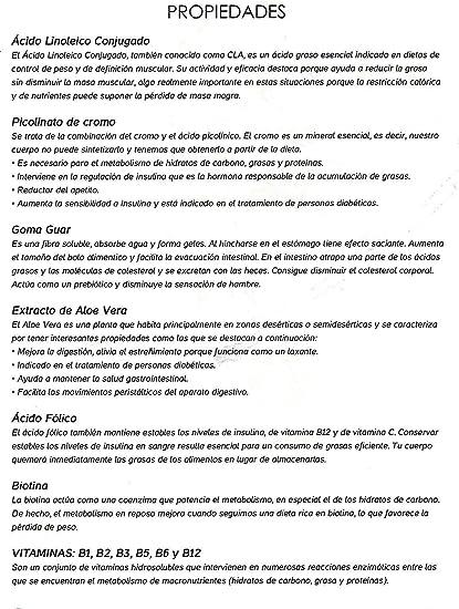 Quemagrasas Adelgazante- LipoExpress Body Perfect. CLA (reductor ...