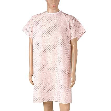 DMI – Hospital de convalecencia albornoz con back Tie, Rosa Print