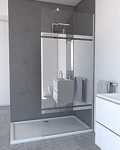 Aurlane FAC238 - Mampara de ducha, multicolor: Amazon.es: Bricolaje y herramientas