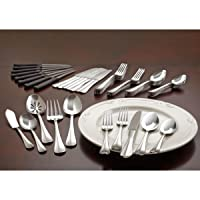 International Silver Simplicity 53-Piece Stainless Steel Flatware Set Deals