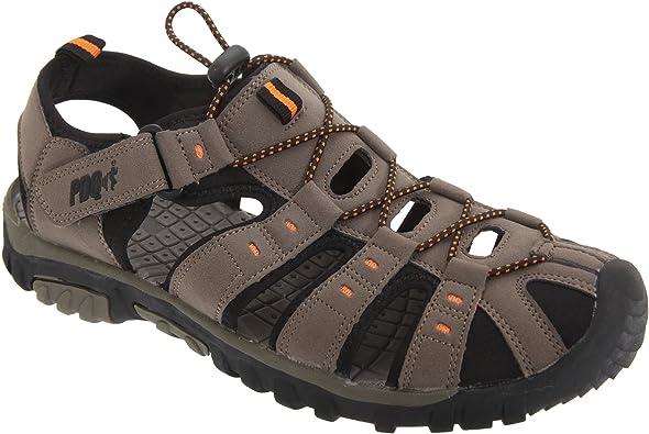 Mens Boys PDQ Sports Hiking Closed Toe Trail Sandals Size 2 3 4 5 6 7 8 9 10 11 12