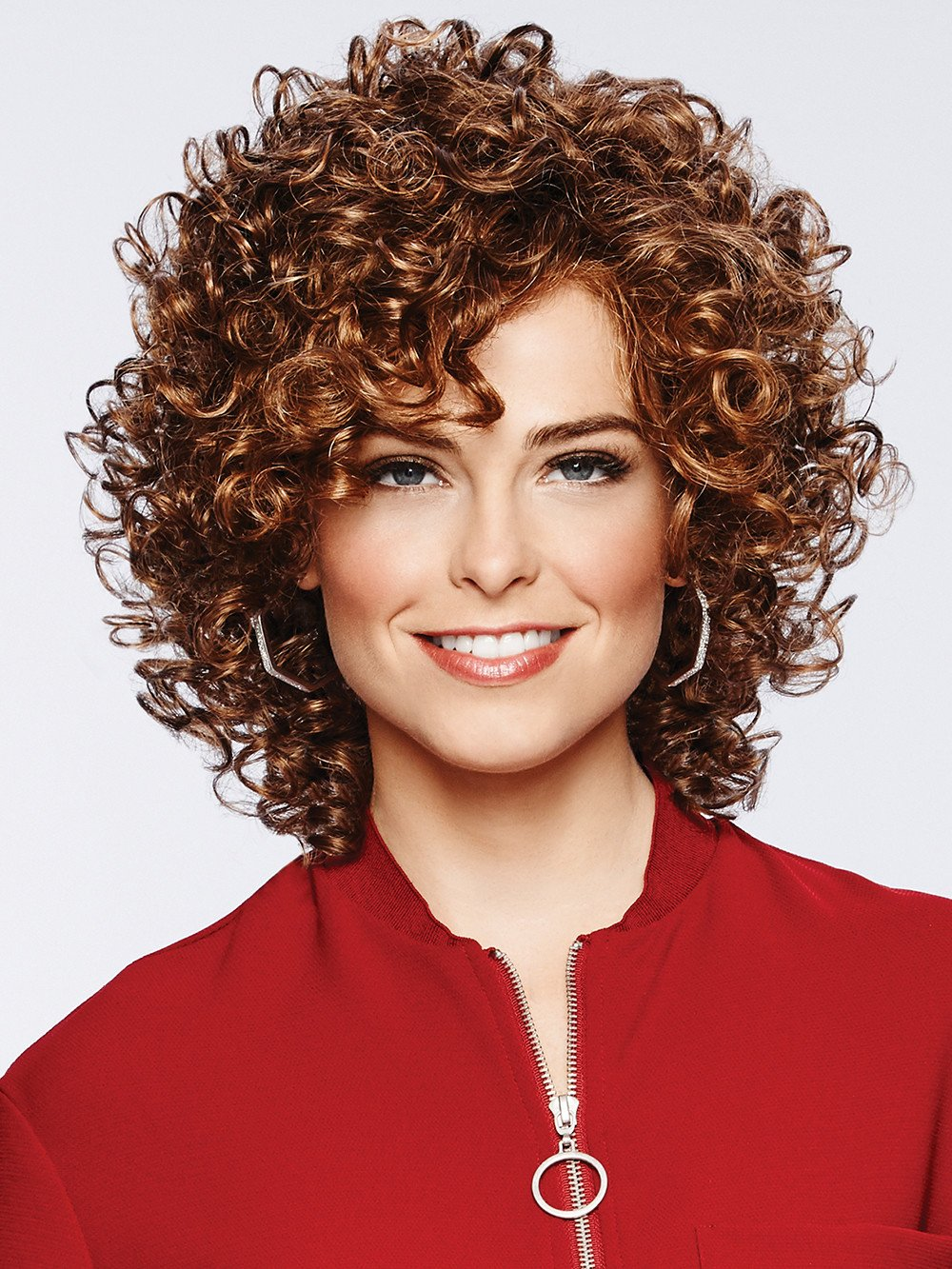Curl Appeal Wig Smooth Spiral Curls Lace Front Curly Fluff by Eva Gabor Wigs GL 8/29