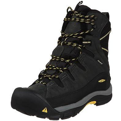 01698c62a1c KEEN Men's Summit County Waterproof Winter Boot,Dark Shadow/Yellow,7 ...