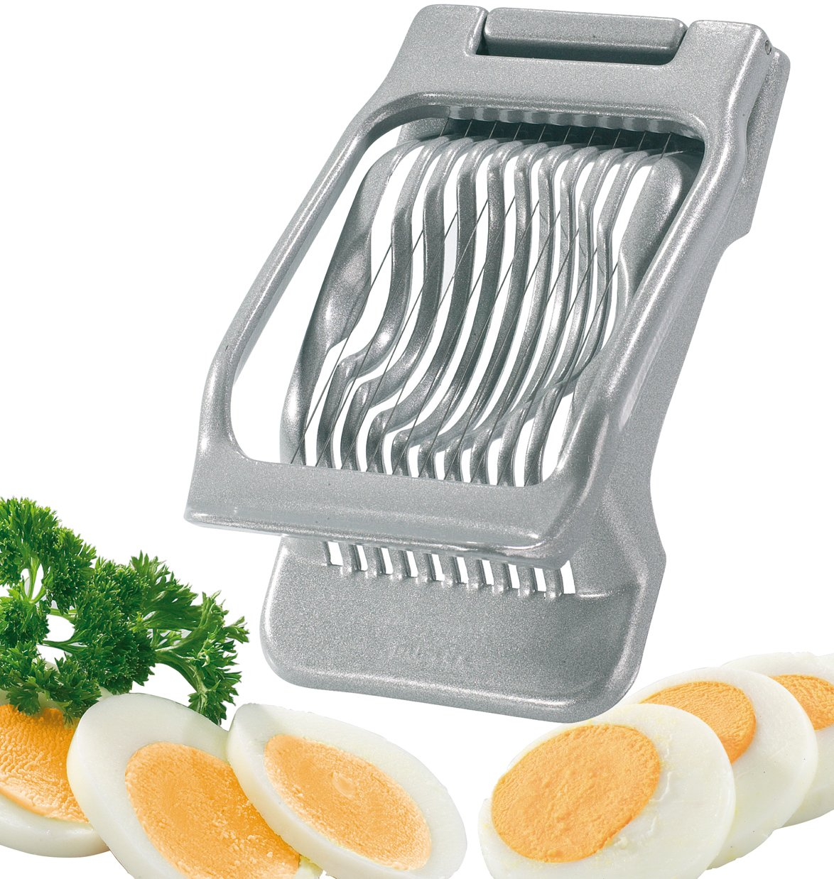 Westmark Germany Multipurpose Stainless Steel Wire Egg Slicer (Grey) by Westmark