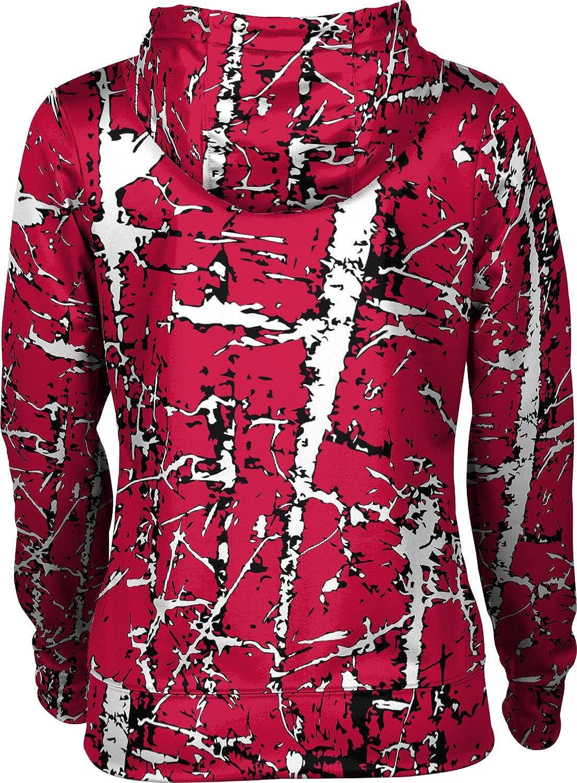 Distressed School Spirit Sweatshirt ProSphere Southern Utah University Girls Zipper Hoodie
